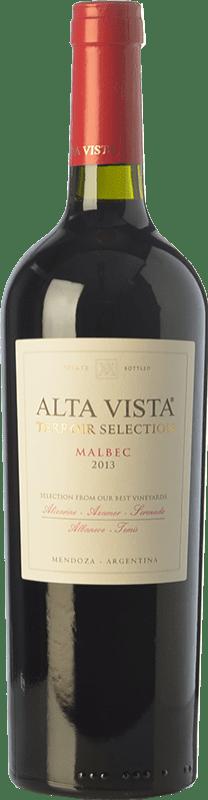 19,95 € Envío gratis | Vino tinto Altavista Terroir Selection Crianza I.G. Mendoza Mendoza Argentina Malbec Botella 75 cl