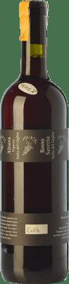 45,95 € Free Shipping   Red wine Altura Rosso Saverio D.O.C. Maremma Toscana Tuscany Italy Grenache, Malvasía, Sangiovese, Aleatico, Canaiolo Black, Muscatel Black Bottle 75 cl