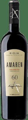 33,95 € Envoi gratuit | Vin rouge Amaren Reserva D.O.Ca. Rioja La Rioja Espagne Tempranillo Bouteille 75 cl
