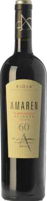 33,95 € Envío gratis | Vino tinto Amaren Reserva D.O.Ca. Rioja La Rioja España Tempranillo Botella 75 cl