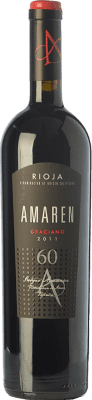 63,95 € Free Shipping | Red wine Amaren Reserva D.O.Ca. Rioja The Rioja Spain Graciano Bottle 75 cl