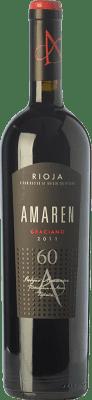 57,95 € Kostenloser Versand   Rotwein Amaren Reserva D.O.Ca. Rioja La Rioja Spanien Graciano Flasche 75 cl