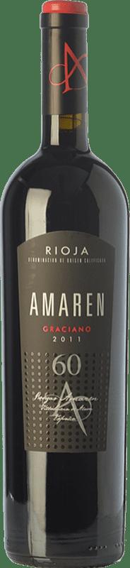 57,95 € Envío gratis | Vino tinto Amaren Reserva D.O.Ca. Rioja La Rioja España Graciano Botella 75 cl