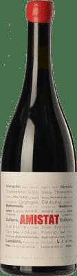 31,95 € Free Shipping | Red wine Amistat Negre Crianza A.O.C. Côtes du Roussillon Languedoc-Roussillon France Grenache Bottle 75 cl