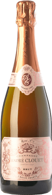 39,95 € Free Shipping | Rosé sparkling André Clouet Rosé Grand Cru Gran Reserva A.O.C. Champagne Champagne France Pinot Black Bottle 75 cl | Thousands of wine lovers trust us to get the best price guarantee, free shipping always and hassle-free shopping and returns.