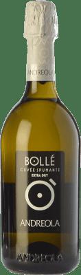 9,95 € Free Shipping | White sparkling Andreola Bollé Extra Dry D.O.C. Prosecco Veneto Italy Glera Bottle 75 cl