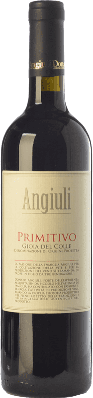 8,95 € Free Shipping | Red wine Angiuli I.G.T. Puglia Puglia Italy Primitivo Bottle 75 cl