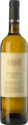 8,95 € Free Shipping | White wine Angiuli I.G.T. Puglia Puglia Italy Verdeca Bottle 75 cl