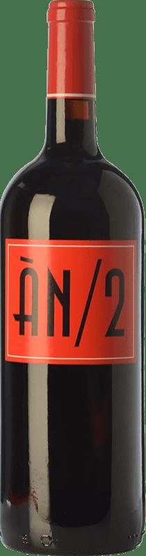 21,95 € Free Shipping | Red wine Ànima Negra ÀN/2 Crianza I.G.P. Vi de la Terra de Mallorca Balearic Islands Spain Cabernet Sauvignon, Callet, Fogoneu Magnum Bottle 1,5 L