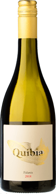 14,95 € Envío gratis | Vino blanco Ànima Negra Quíbia I.G.P. Vi de la Terra de Illes Balears Islas Baleares España Callet, Pensal Blanca Botella 75 cl