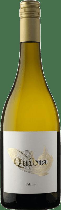 12,95 € Free Shipping | White wine Ànima Negra Quíbia I.G.P. Vi de la Terra de Illes Balears Balearic Islands Spain Callet, Pensal White Bottle 75 cl