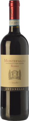 13,95 € Free Shipping | Red wine Antonelli San Marco Rosso D.O.C. Montefalco Umbria Italy Sangiovese, Montepulciano, Sagrantino Bottle 75 cl