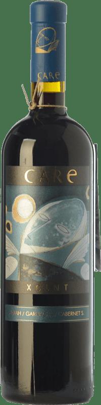 27,95 € Free Shipping | Red wine Añadas Care XCLNT Crianza D.O. Cariñena Aragon Spain Syrah, Grenache, Cabernet Sauvignon Bottle 75 cl