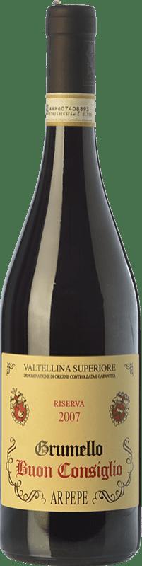 79,95 € Envoi gratuit | Vin rouge Ar.Pe.Pe. Grumello Riserva Buon Consiglio Reserva 2009 D.O.C.G. Valtellina Superiore Lombardia Italie Nebbiolo Bouteille 75 cl