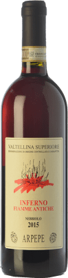 33,95 € Free Shipping | Red wine Ar.Pe.Pe. Inferno Fiamme Antiche D.O.C.G. Valtellina Superiore Lombardia Italy Nebbiolo Bottle 75 cl