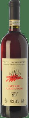33,95 € Envoi gratuit | Vin rouge Ar.Pe.Pe. Inferno Fiamme Antiche D.O.C.G. Valtellina Superiore Lombardia Italie Nebbiolo Bouteille 75 cl