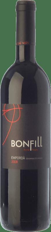 24,95 € Envío gratis | Vino tinto Arché Pagés Bonfill Joven D.O. Empordà Cataluña España Garnacha, Cabernet Sauvignon, Cariñena Botella 75 cl