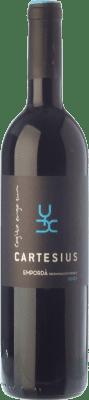 13,95 € Envío gratis | Vino tinto Arché Pagés Cartesius Negre Joven D.O. Empordà Cataluña España Garnacha, Cabernet Sauvignon, Cariñena Botella 75 cl