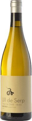 24,95 € Free Shipping | White wine Arché Pagés Ull de Serp Macabeu Crianza D.O. Empordà Catalonia Spain Macabeo Bottle 75 cl