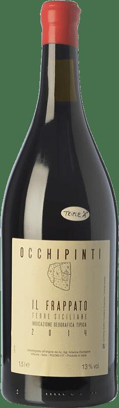 28,95 € Kostenloser Versand | Rotwein Arianna Occhipinti Frappato I.G.T. Terre Siciliane Sizilien Italien Frappato di Vittoria Magnum-Flasche 1,5 L