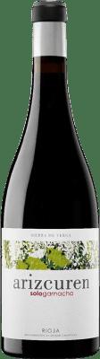 24,95 € Free Shipping   Red wine Arizcuren Sologarnacha Crianza D.O.Ca. Rioja The Rioja Spain Grenache Bottle 75 cl