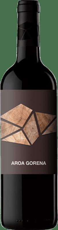 17,95 € Free Shipping | Red wine Aroa Gorena Selección Crianza D.O. Navarra Navarre Spain Merlot, Cabernet Sauvignon Bottle 75 cl