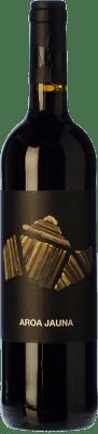 7,95 € Free Shipping | Red wine Aroa Jauna Crianza D.O. Navarra Navarre Spain Tempranillo, Merlot, Grenache, Cabernet Sauvignon Bottle 75 cl