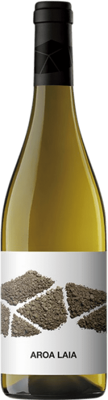 9,95 € Envoi gratuit | Vin blanc Aroa Laia D.O. Navarra Navarre Espagne Grenache Blanc Bouteille 75 cl