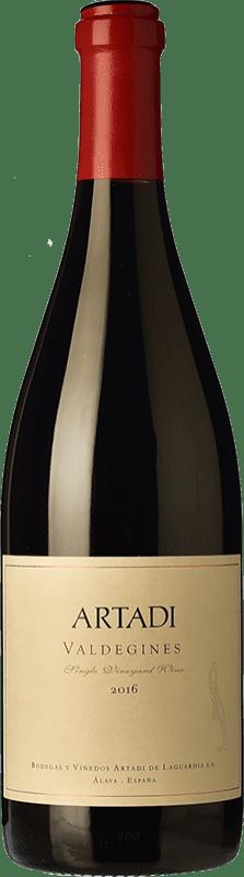 69,95 € Envío gratis   Vino tinto Artadi Valdeginés Crianza D.O.Ca. Rioja La Rioja España Tempranillo Botella Mágnum 1,5 L