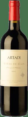 21,95 € Free Shipping | Red wine Artadi Viñas de Gain Crianza D.O.Ca. Rioja The Rioja Spain Tempranillo Bottle 75 cl