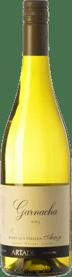8,95 € Free Shipping | White wine Artazu Garnacha By Artazu D.O. Navarra Navarre Spain Grenache White Bottle 75 cl