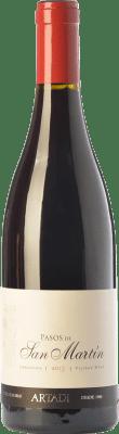 Vin rouge Artazu Pasos de San Martín Crianza D.O. Navarra Navarre Espagne Grenache Bouteille Magnum 1,5 L