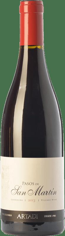 39,95 € Envío gratis | Vino tinto Artazu Pasos de San Martín Crianza D.O. Navarra Navarra España Garnacha Botella Mágnum 1,5 L