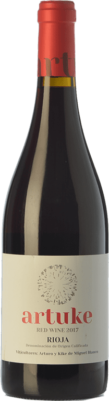 8,95 € Free Shipping | Red wine Artuke Joven D.O.Ca. Rioja The Rioja Spain Tempranillo, Viura Bottle 75 cl