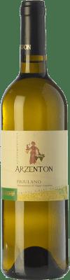 6,95 € Kostenloser Versand | Weißwein Arzenton D.O.C. Colli Orientali del Friuli Friaul-Julisch Venetien Italien Friulano Flasche 75 cl