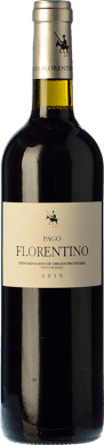 14,95 € Envío gratis | Vino tinto Arzuaga Pago Florentino Crianza D.O. Ribera del Duero Castilla y León España Cencibel Botella 75 cl