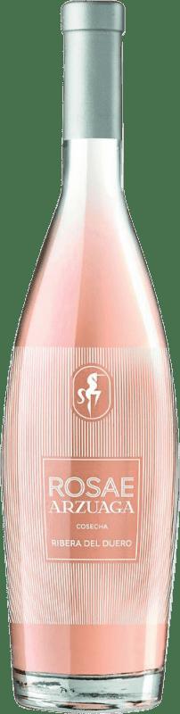 11,95 € Envío gratis | Vino rosado Arzuaga Rosae D.O. Ribera del Duero Castilla y León España Tempranillo Botella 75 cl