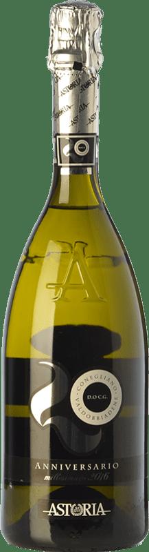 19,95 € Free Shipping | White sparkling Astoria Anniversario D.O.C.G. Prosecco di Conegliano-Valdobbiadene Treviso Italy Glera Bottle 75 cl