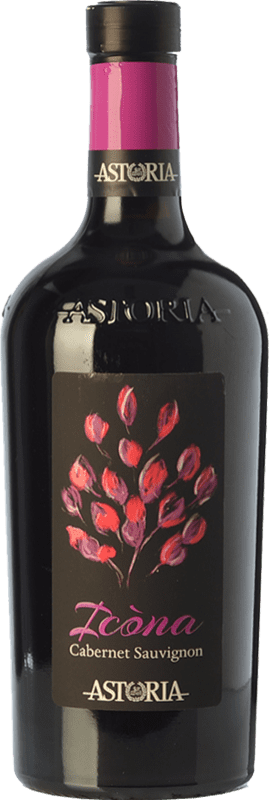 15,95 € Free Shipping | Red wine Astoria Icòna I.G.T. Venezia Veneto Italy Cabernet Sauvignon Bottle 75 cl