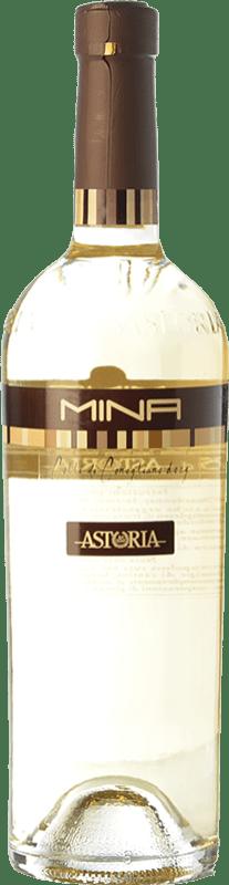 19,95 € Free Shipping | White wine Astoria Mina D.O.C. Colli di Conegliano Veneto Italy Chardonnay, Sauvignon, Incroccio Manzoni Bottle 75 cl