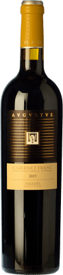 15,95 € Free Shipping | Red wine Augustus Crianza D.O. Penedès Catalonia Spain Cabernet Franc Bottle 75 cl