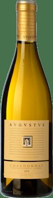 17,95 € Free Shipping | White wine Augustus Crianza D.O. Penedès Catalonia Spain Chardonnay Bottle 75 cl