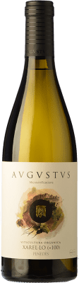 15,95 € Free Shipping | White wine Augustus Microvinificacions +100 Crianza D.O. Penedès Catalonia Spain Xarel·lo Bottle 75 cl