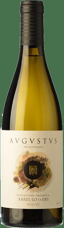 13,95 € Free Shipping | White wine Augustus Microvinificacions +100 Crianza D.O. Penedès Catalonia Spain Xarel·lo Bottle 75 cl