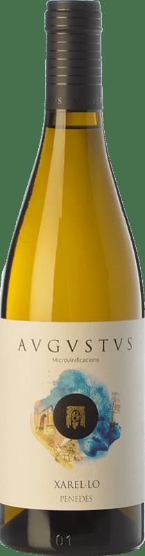 15,95 € Free Shipping | White wine Augustus Microvinificacions de Mar Crianza D.O. Penedès Catalonia Spain Xarel·lo Bottle 75 cl