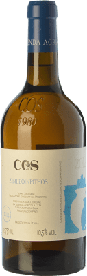 29,95 € Free Shipping | White wine Cos Zibibbo in Pithos I.G.T. Terre Siciliane Sicily Italy Muscat of Alexandria Bottle 75 cl