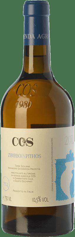 23,95 € Envoi gratuit | Vin blanc Cos Zibibbo in Pithos I.G.T. Terre Siciliane Sicile Italie Muscat d'Alexandrie Bouteille 75 cl