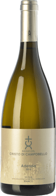 16,95 € Free Shipping | White wine Cristo di Campobello Adenzia Bianco I.G.T. Terre Siciliane Sicily Italy Insolia, Grillo Bottle 75 cl