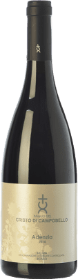 18,95 € Free Shipping | Red wine Cristo di Campobello Adenzia Rosso I.G.T. Terre Siciliane Sicily Italy Syrah, Nero d'Avola Bottle 75 cl
