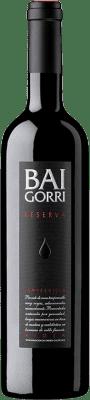 19,95 € Envoi gratuit | Vin rouge Baigorri Reserva D.O.Ca. Rioja La Rioja Espagne Tempranillo Bouteille 75 cl